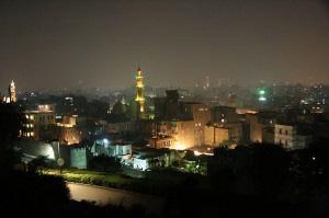 Il Cairo di notte by malex